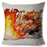 Boutique One Piece Coussin Coussin One Piece Portgas D Ace Fils De Gol D Roger