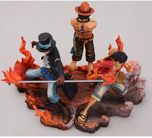 Boutique One Piece Figurine One Piece Figurine One Piece Ace Luffy Et Sabo