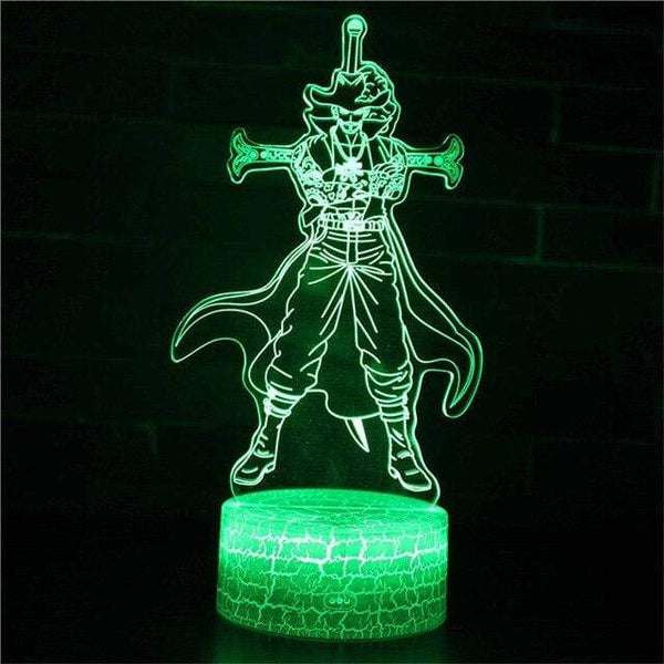 Boutique One Piece Lampe One Piece Lampe 3d Led Œil De Faucon