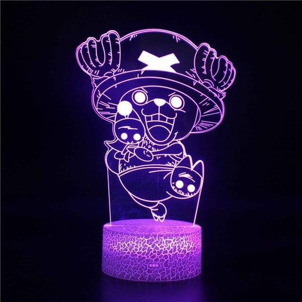 Boutique One Piece Lampe One Piece Lampe Led 3d Docteur Choppeur