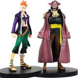 Boutique One Piece Figurine One Piece Lot De 2 Figurine One Piece Marco Et Gol D Roger