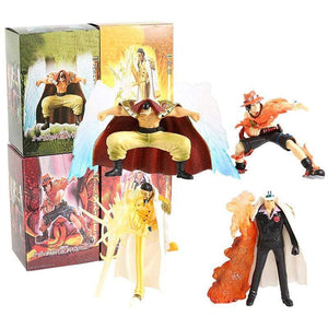 Boutique One Piece Figurine One Piece Lot De 4 Figurine One Piece Marineford