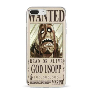 Boutique One Piece Accessoire For iphone 11Pro 10 / TPU One Piece Avis De Recherche God Ussop