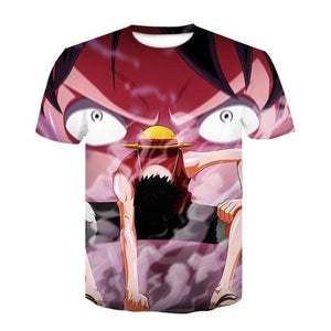 Boutique One Piece T-shirt S One Piece Monkey Luffy Gear Second Arc CP9