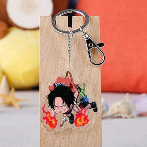 Boutique One Piece Porte Clef Porte Clef One Piece Ace Pendu