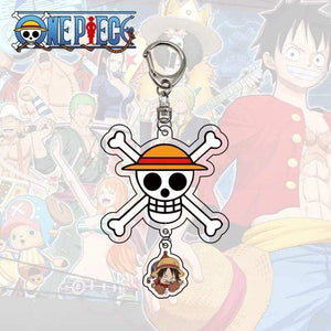 Boutique One Piece Porte Clef Porte Clef One Piece Symbole De Luffy
