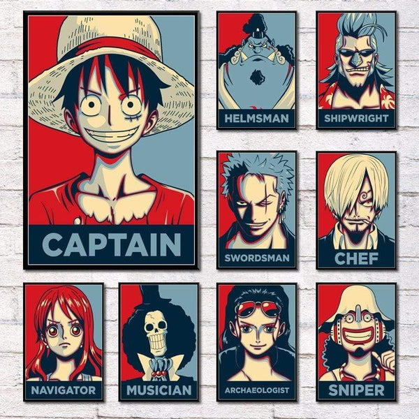 Boutique One Piece Poster Poster One Piece Charpentier Franky