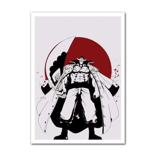 Boutique One Piece Poster 30x42cm Poster One Piece Edward Newgate Et La Lune De Sang