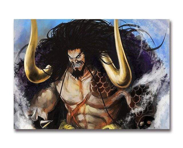 Boutique One Piece Poster 40x50cm Poster One Piece L' Immortel Kaido