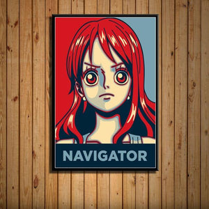 Boutique One Piece Poster 55x80cm Poster One Piece Navigatrice Nami
