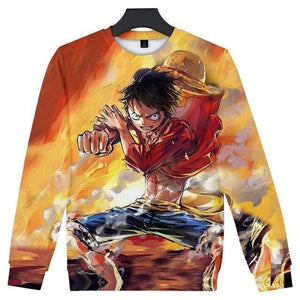 Boutique One Piece Pull 4XL Pull One Piece Mugiwara No Luffy Futur Roi Des Pirates