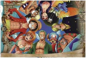 Boutique One Piece Puzzle Puzzle 1000 Pièeces One Piece Affiche Mugiwara