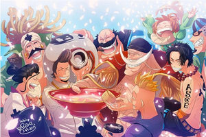 Boutique One Piece Puzzle Puzzle 1000 Pièeces One Piece Barbe Blanche En Famille