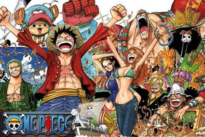 Boutique One Piece Puzzle Puzzle 1000 Pièeces One Piece Saut de Joie