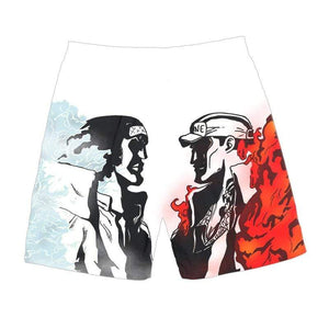 Boutique One Piece Short de Bain Short De Bain One Piece Aokiji Vs Akainu