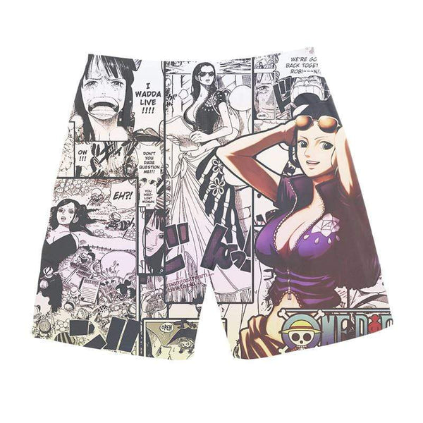 Boutique One Piece Short de Bain Short de Bain One Piece Nico Robin