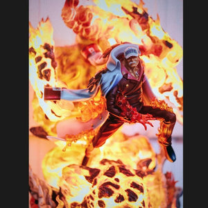 Boutique One Piece Figurine One Piece Statue Collector Amiral En Chef Akainu Et Son Magma