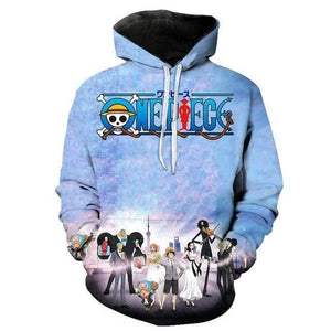 Boutique One Piece Sweat XXL Sweat One Piece Les Mugiwara en Tenue de Soirée