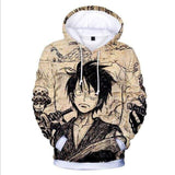 Boutique One Piece Sweat XXS Sweat One Piece Luffy Manga