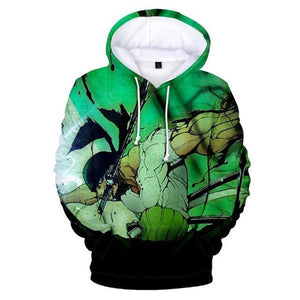 Boutique One Piece Sweat XXS Sweat One Piece Roronoa Zoro