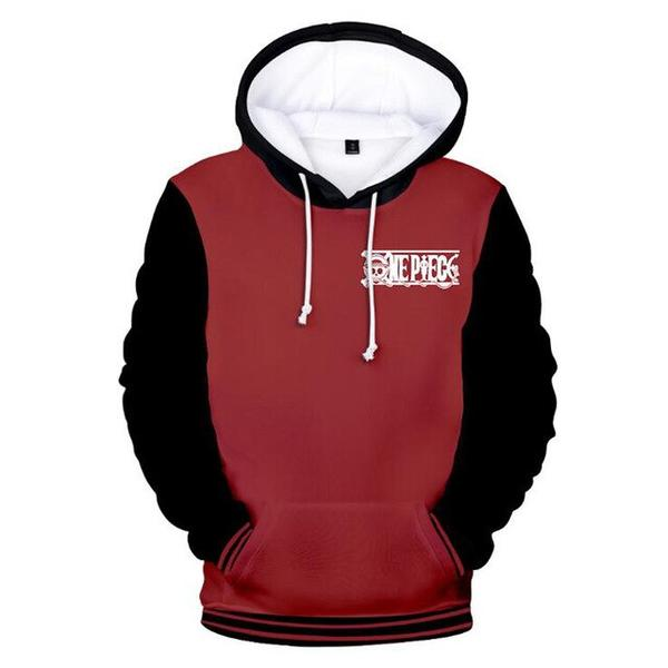 Onepiece-Shops Sweat XXS Sweat One Piece Rouge et Noir