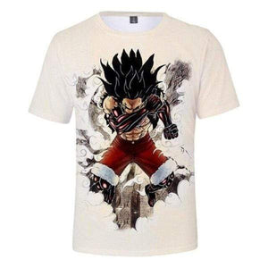 Boutique One Piece T-shirt T-Shirt One Piece Luffy Gear Fourth Snake Man