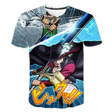 Boutique One Piece T-shirt XXS T-Shirt One Piece Zoro Vs Mihawk