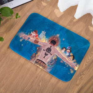 Boutique One Piece Tapis De Douche Tapis De Douche One Piece Souvenirs De Ace