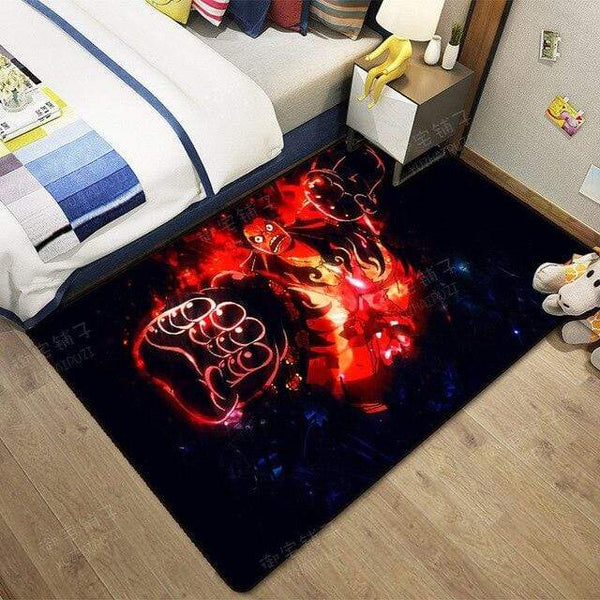Boutique One Piece Tapis 60x90cm Tapis One Piece Luffy Gear Fourth