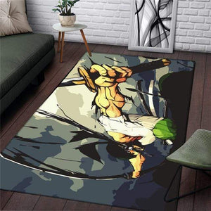 Boutique One Piece Tapis Tapis One Piece Zoro Demon Slash