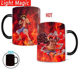 Boutique One Piece Mug Tasse Magique One Piece Luffy, LUffy Gear Second, Luffy Gear Fourth