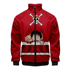 Boutique One Piece Veste XS Veste One Piece Cute Luffy