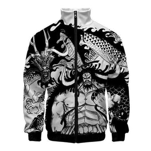 Boutique One Piece Veste 4XL Veste One Piece Kaido Dragon