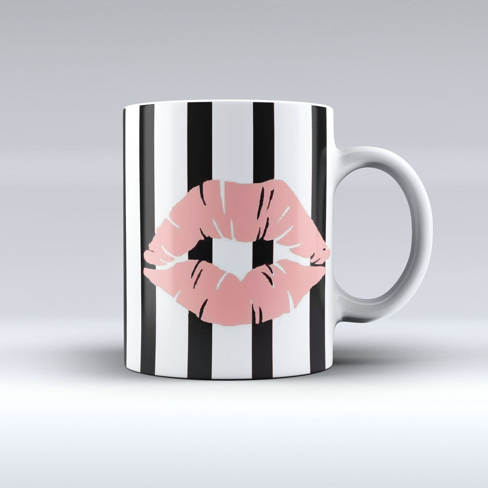 Pink Lips Coffee Mug