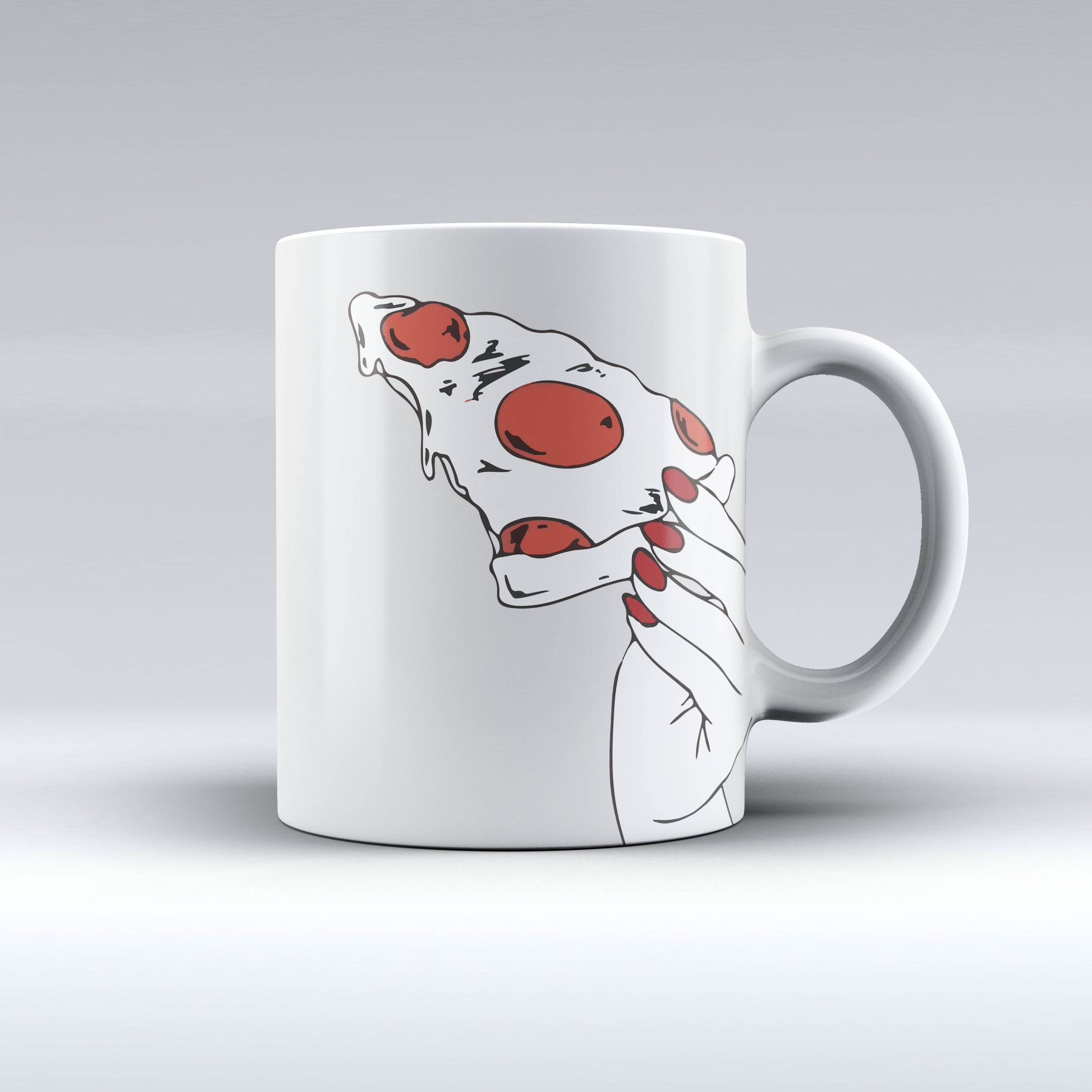 I Love Pizza Coffee Mug