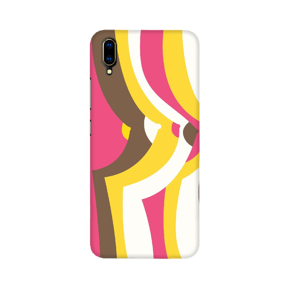 Boobs Abstract Design Mobile Cover