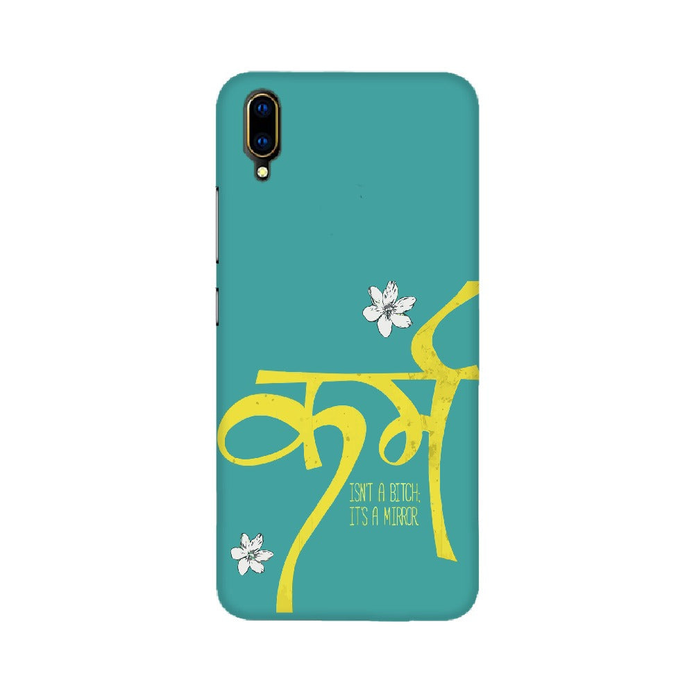 Karma Is Bitch Mobile Cover