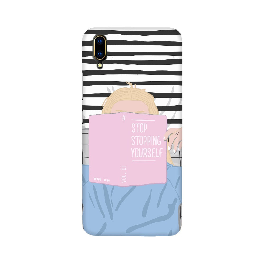 Stop Stopping Yourself Mobile Cover