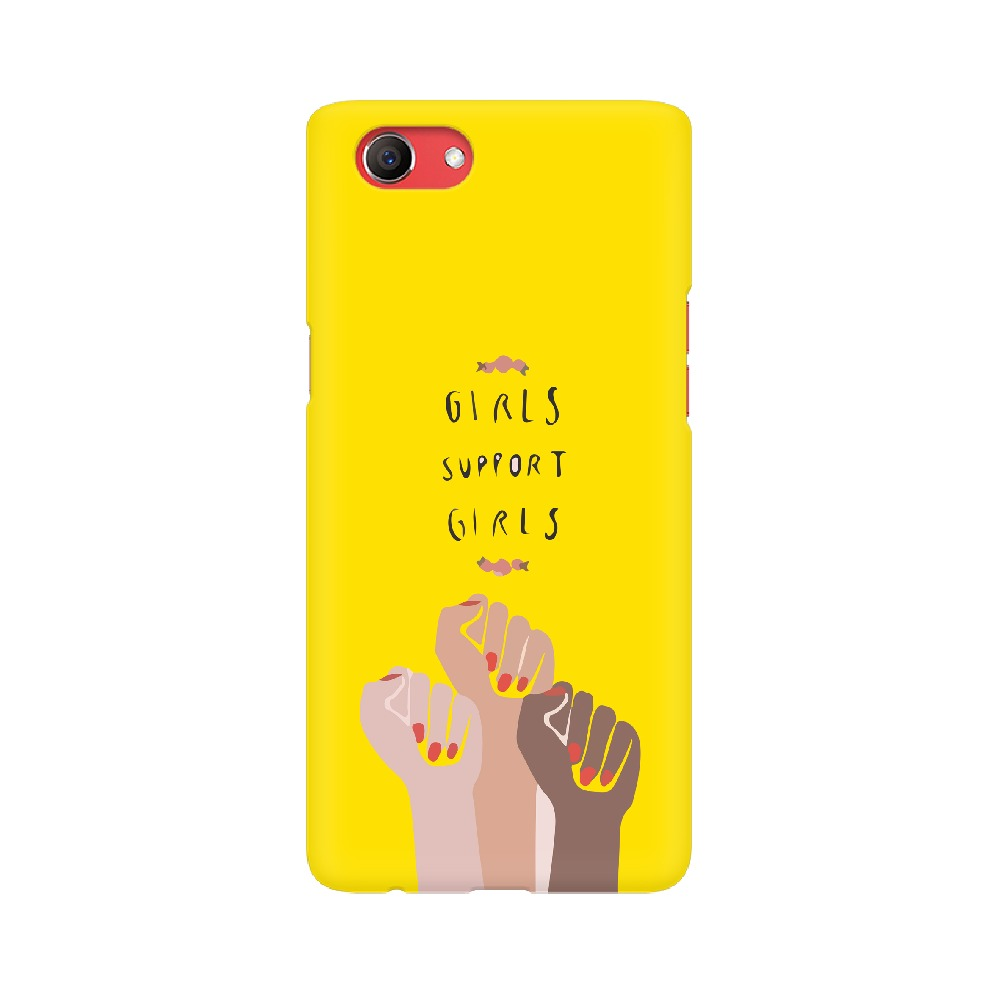 Girl Support Girl Mobile Cover
