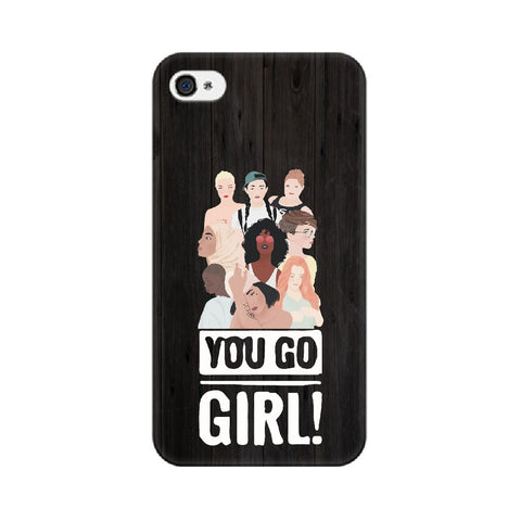 You Go Girl Mobile Cover