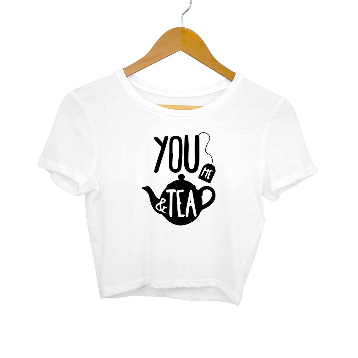 You Me & Tea Crop Tops