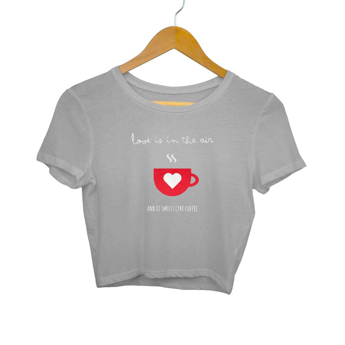 Love Is In The Air Crop Tops
