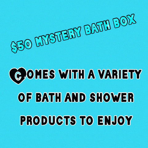 $50 mystery bath product box