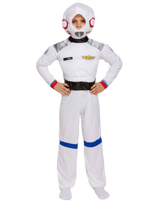 Child Space Boy Costume Boys Astronaut Spaceman Book Week Fancy Dress Outfit
