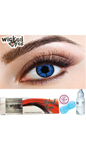 Wicked Eyes Daily Contact Lenses Hell Raiser