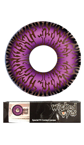 Wicked Eyes Daily Contact Lenses Flame