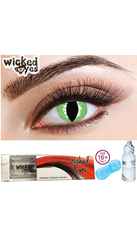 30 Day Contact Lense - Party Green