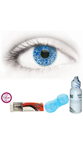 Wicked Eyes Daily Contact Lenses UV White