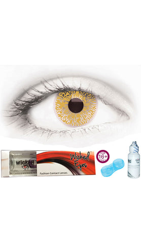 Cleopatra Black & Red Daily Contact Lense