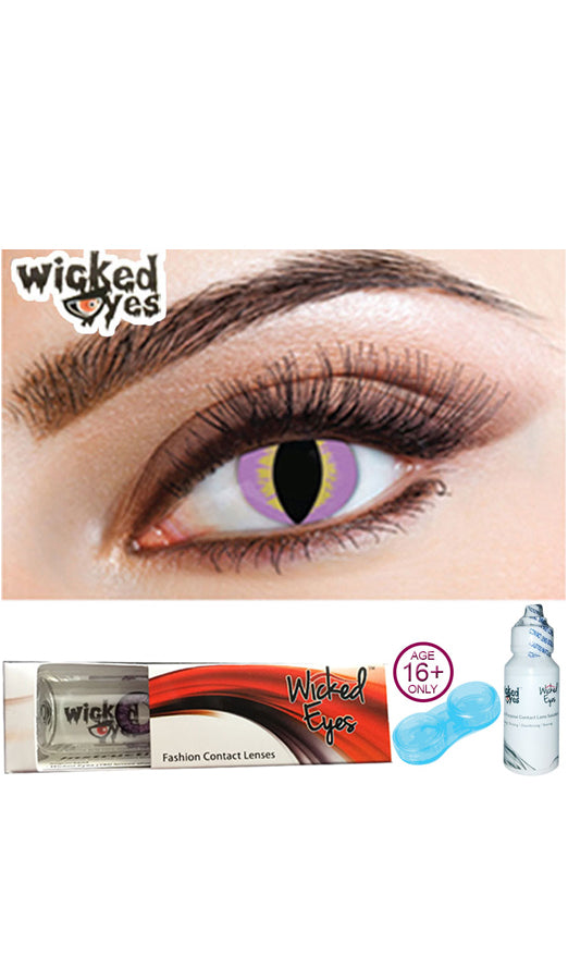 30 Day Contact Lense - Reptile Pink